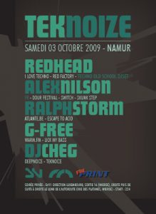 tecknoize 2009: Namur(Be)